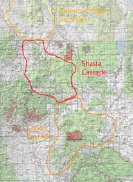 Sonoma State Map by Breaking Down The North State The California Cascades Hike Mt
