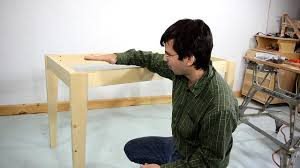How To Build A Tabletop Jump Out Of Wood by How To Make A Simple Table Youtube