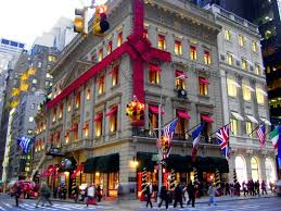 new york city the department stores decorated for the