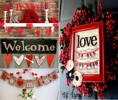 valentines day home decorations awesome valentine day home decor with wreaths and garlands