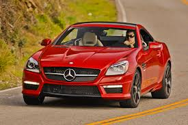 mercedes benz sl slk may share architecture offer awd