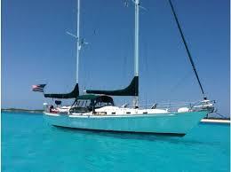 the boat 1980 whitby 42 ketch s v mary christine a liveaboard