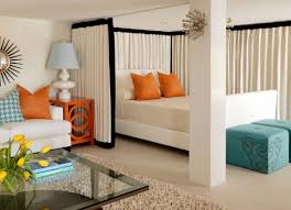 Wire Curtain Room Divider by How To Reinvent Spaces With Curtain Room Dividers