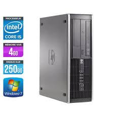 pc bureau windows 7 ordinateur bureau d occasion pas cher occasion et reconditionné