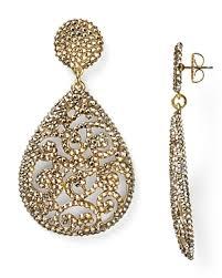 ramona singer earrings ramona singers gold pave drop earrings in turks caicos big