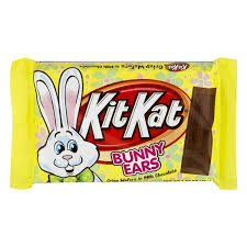 chocolate bunny ears kitkat kit easter milk chocolate bunny ears 1 55 oz from