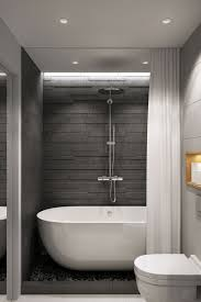Gray And Black Bathroom Ideas 25 Gray And White Small Bathroom Ideas Designrulz