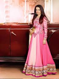 latest aesthetic anarkali formal wear fancy for ladies