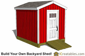 Backyard Storage Sheds Plans by 8x10 Delux Shed Plans Storage Shed Plans Garden Shed Plans