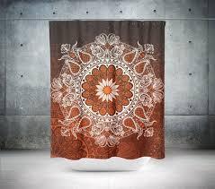 Chocolate Brown Shower Curtain Best 25 Brown Shower Curtains Ideas On Pinterest Guest Bathroom