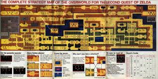 legend of zelda map with cheats 3d printing of 1988 s the legend of zelda map the retroist