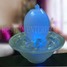 water fountain with lights indoor glass tabletop water fountain with led lightings global sources