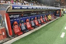 panchina di calcio la panchina scotta sempre parte il valzer degli allenatori