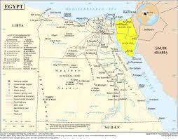 Gulf Of Aqaba Map The Sinai Peninsula