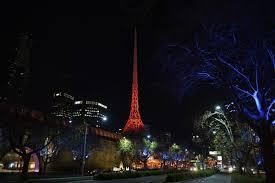 landmarks across the globe turn red for istanbul