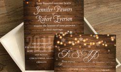 free rustic wedding invitation templates free printable wedding invitation templates badbrya