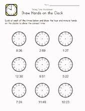 telling time worksheet maths pinterest telling time and