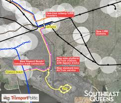 Jfk Airtrain Map Expanding Transit Access To Southeast Queens The Transport Politic