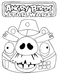 free printable star wars coloring pages angry birds star wars coloring page