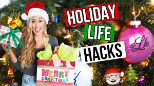 diy hacks youtube diy holiday life hacks christmas gifts snacks decor laurdiy