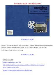 revuelux 5005 ton manual de by edie guitian issuu