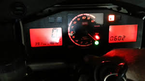 aprilia rsv mille dashboard functions youtube