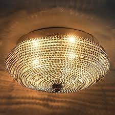 Wohnzimmer Lampe Ebay Lux Pro Deckenleuchte Deckenlampe Lampe Leuchte Mesh Kristall