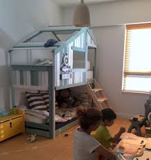 loft bed hacks an indoor playhouse bunk bed ikea mydal hack