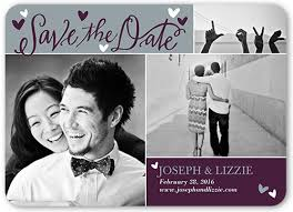 save the date announcements calligraphy 5x7 save the date card shutterfly