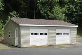 Double Car Garage by Modular Garages For Two Cars Protect Your Investment