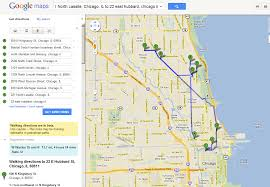 Chicago Race Map by Great Urban Race In Chicago
