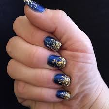 royal blue and gold nail designs image collections nail art designs