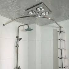 put the right curved shower curtain rods in the bathroom choovin