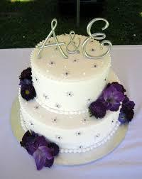 purple silver wedding cake idea in 2017 bella wedding