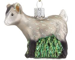 pygmy goat personalized ornament