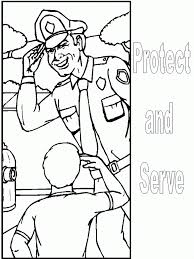 best police and police car coloring pages for kids womanmate com