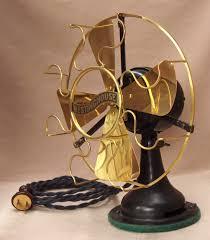 westinghouse 8 brass blade fan circa 1912 vintage lighting and fan pe