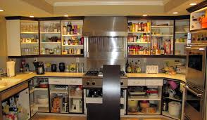 Kitchen Fascinating Cabinet Refacing Diy For Nes And Nicer - Kitchen cabinet without doors