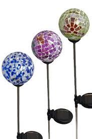 Solar Stake Garden Lights - 116 best garden globes aka pretties images on pinterest garden