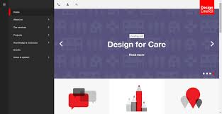 Home Care Website Design Inspiration 29 Creative Use Of Side Menus In Websites Today