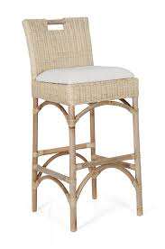 Traditional Kitchen Stools - furniture natural rattan bar stools for traditional kitchen design