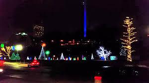 niagara falls christmas lights niagara falls canada christmas lights youtube