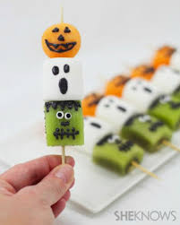 Vegetarian Halloween Appetizers by 50 Homemade Halloween Treats Easy Halloween Dessert Recipes