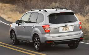 subaru forester xt 2017 first drive 2014 subaru forester automobile magazine