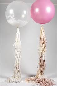 oversize balloons 36 balloon with tassel garland pink wedding balloon