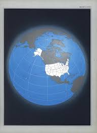 united states globe map the national atlas of the united states of america perry