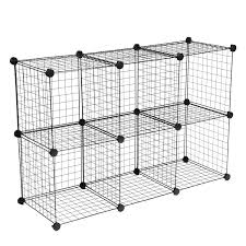 amazon com wire storage cubes maidmax free standing modular