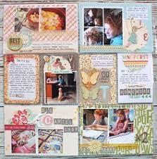 Scrapbook Page Protectors Project Life Week 1 Page 1 Scrapbook Com Project Life