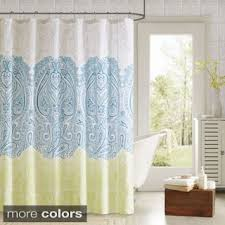 grey shower curtain etsy with blue and yellow shower curtain
