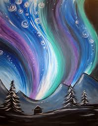 northern lights muse paintbar events painting classes